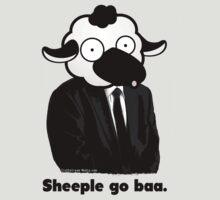 Sheeple go baa. (Light) by truthstreamnews