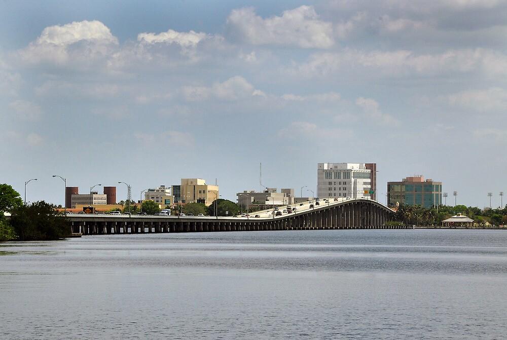 Hancock Bridge on the Caloo by John  Kapusta