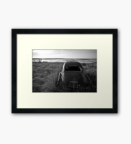 Chevy at the Levy Some Years Later #1 Framed Print