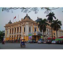 Vietnam. Hanoi. Opera house. Photographic Print