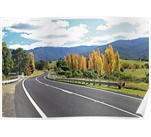 Autumn in the Bega Valley Poster