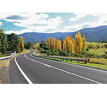 Autumn in the Bega Valley Photographic Print