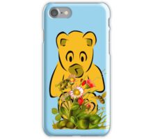 Teddy,Flowers and Bees...Tee iPhone Case/Skin