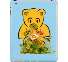 Teddy,Flowers and Bees...Tee iPad Case/Skin