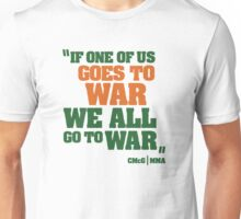 Conor McGregor - Quotes [WAR] Unisex T-Shirt