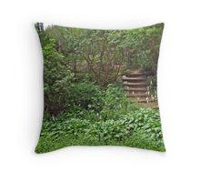 Spohr Gardens - Quissett - Falmouth - MA - Cape Cod Throw Pillow