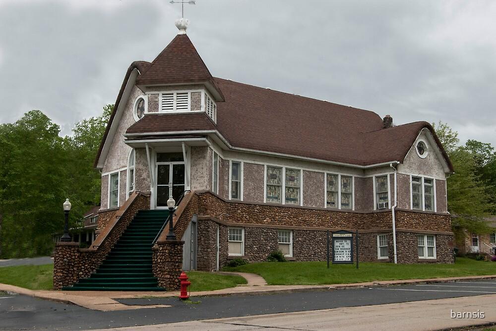 Old Methodist Church ~ Ironton Missouri by barnsis