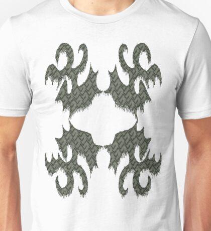 Free-form Grey Unisex T-Shirt