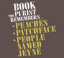 The Book Purist Remembers 1 by JenSnow