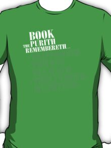 The Book Purist Remembers 4 T-Shirt