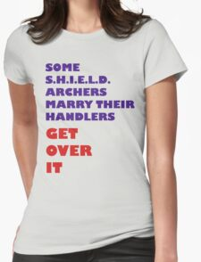 Archers Marry Their Handlers Womens Fitted T-Shirt