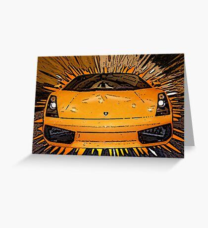 My Favorite Car Greeting Card