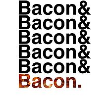 Bacon& Photographic Print