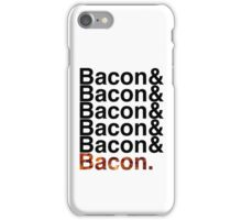 Bacon& iPhone Case/Skin