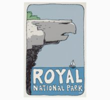 Travel sticker: Royal National Park, Eagle Rock by Joel Tarling