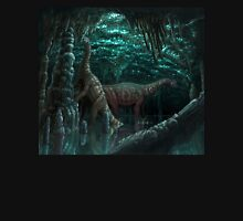 Bioluminescent dinosaur cave Unisex T-Shirt