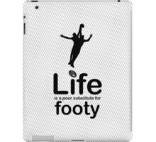 AFL v Life - Marble iPad Case/Skin