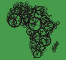 Africa T (Green) by redbikegreen