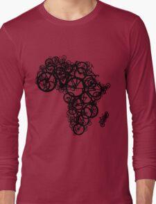 Africa T (Green) Long Sleeve T-Shirt