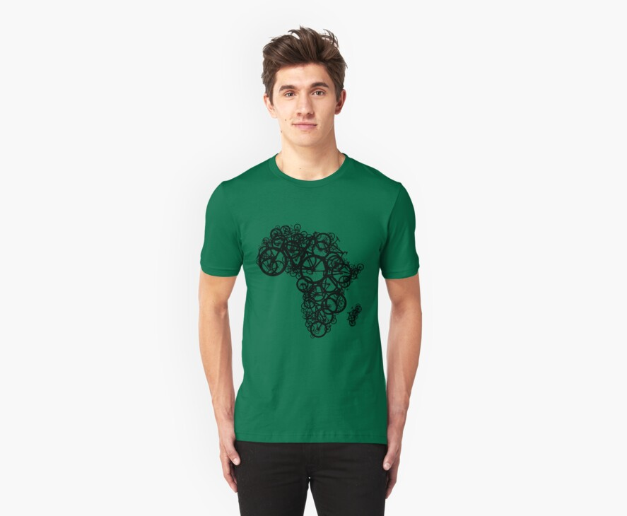 Africa T (Green) by redbikegreen