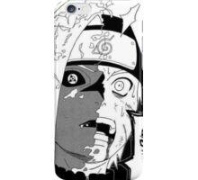 Half n half- Sasuke and Naruto iPhone Case iPhone Case/Skin