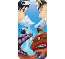 Versus- Naruto and Sasuke iPhone Case iPhone Case/Skin