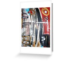 tribal ceremony Greeting Card