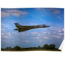 Avro Vulcan flying low Poster