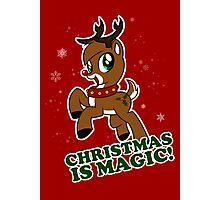 Christmas Is Magic Photographic Print