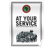 At Your Service Poster Poster