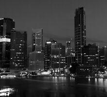 Brisbane in Black & White by Adam Price