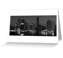 Brisbane in Black & White Greeting Card