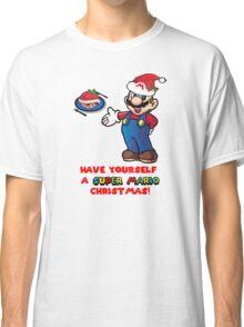 Super Mario Christmas Classic T-Shirt