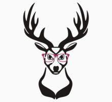 Nerdy Deer  by GenerationShirt