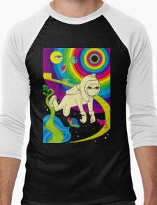 Floating In Space Men's Baseball ¾ T-Shirt