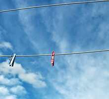 Pegs on a Line by Emily McAuliffe