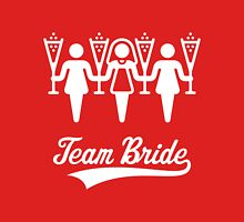 Team Bride (Bachelorette Party / White) Womens Fitted T-Shirt