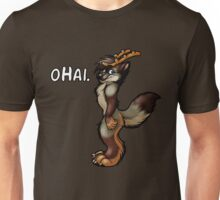 oHai (Gray Foxalope Version) Unisex T-Shirt