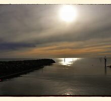Sunset at Glenelg Series, No 6 by Rob Kelly