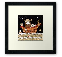 Veras Viking Voyage Framed Print