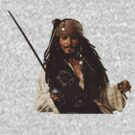 Captain Jack Sparrow by Marjuned