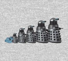 Dalek Family Outing by Marjuned