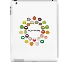 Vegetable soup iPad Case/Skin
