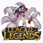 League of Legends - Ahri (New Logo) by falcon333