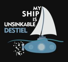 My Ship is unsinkable - Destiel by JudithzzYuko