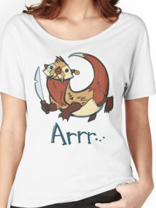Switch the Pirate Otter Women's Relaxed Fit T-Shirt