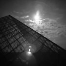 The Louvre Pyramid by BecsPerspective
