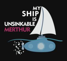 My Ship is unsinkable - Merthur by JudithzzYuko