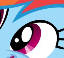 Rainbow Dash Happy Sticker