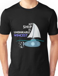 My Ship is unsinkable - Wincest T-Shirt